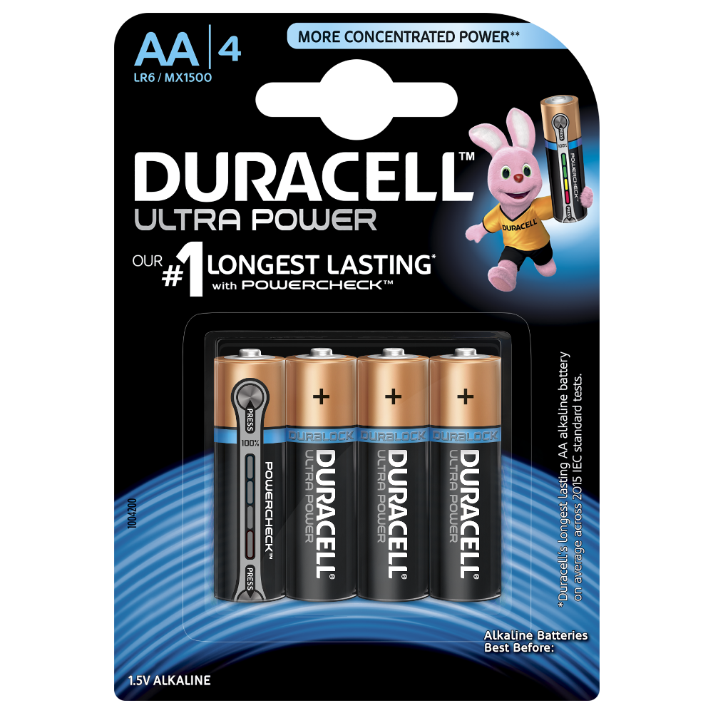 Duracell Ultra Power Aa Batteries Electronics Accessories Supplies Chargers Alkaline