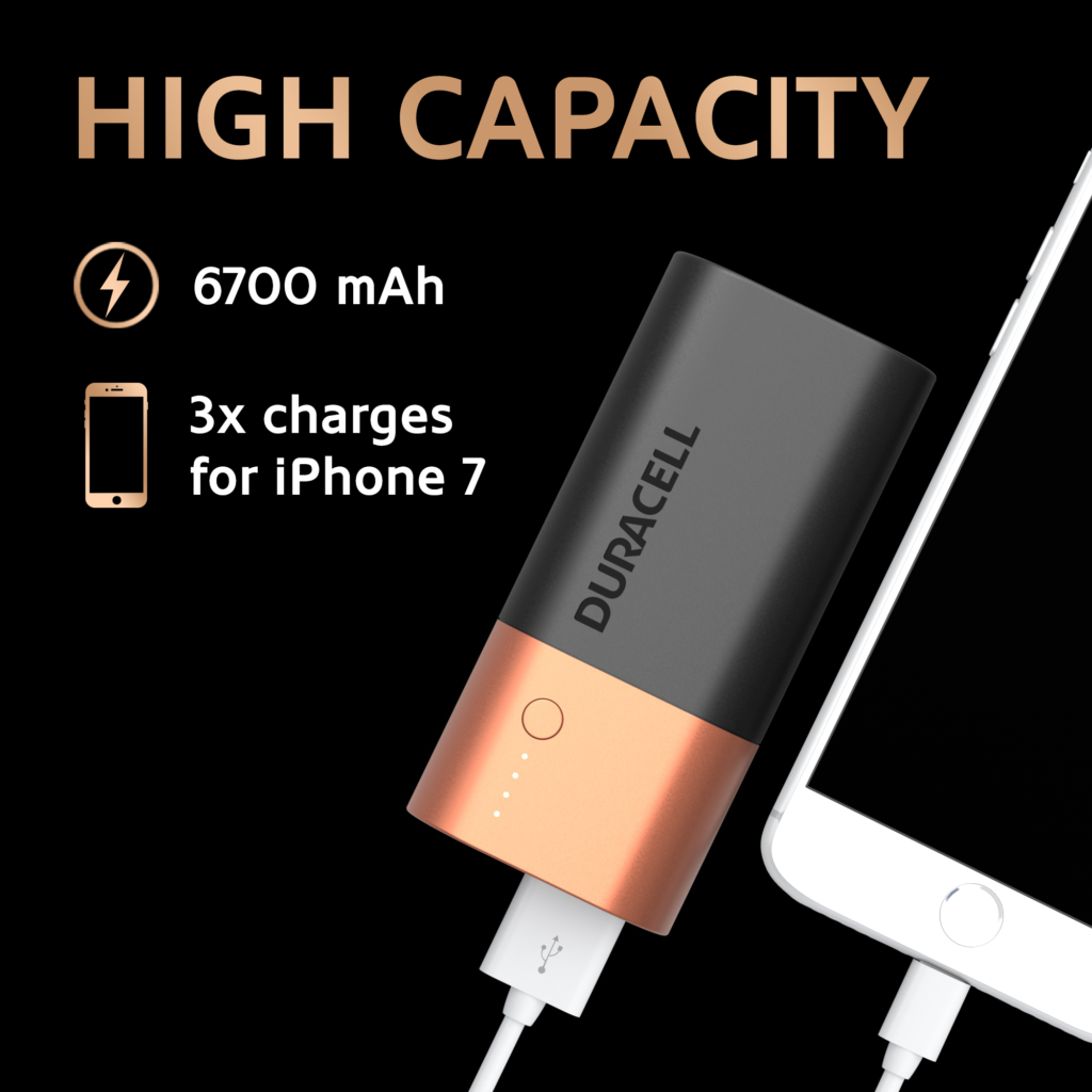 Duracell Powerbank 6700 mAh - charger for smartphones | Power Banks