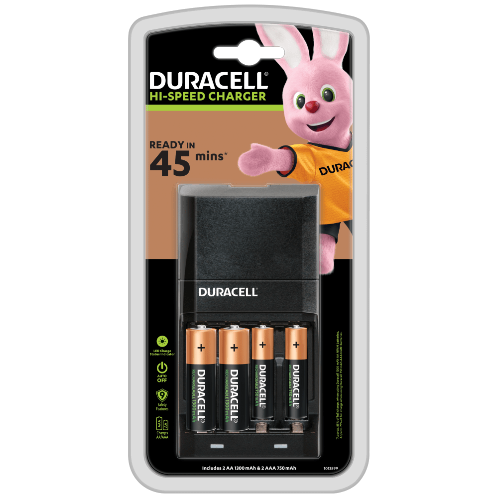 Duracell Hi Speed Advanced Charger For Aa Aaa Batteries